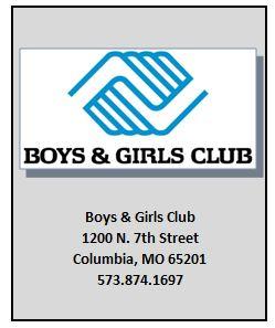 Boys & Girls Club 1200 N. 7th Street, Columbia, MO 65201