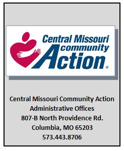 Central MO Community Action Administrative Offices 807-B N. Providence Rd. Columbia, MO 65203