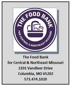 The Food Bank for Central & Northeast MO 2102 Vanider Drive Columbia, MO 65202