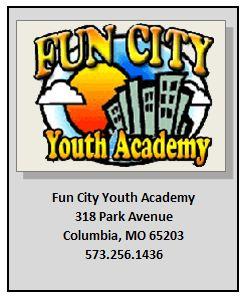 Fun City Youth Academy 318 Park Avenue Columbia, MO 65203