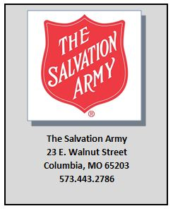 The Salvation Army 23 E. Walnut Street Columbia, MO 65203