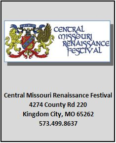 Central Missouri Renaissance Festival 4274 County Rd 220 Kingdom City, MO 65262