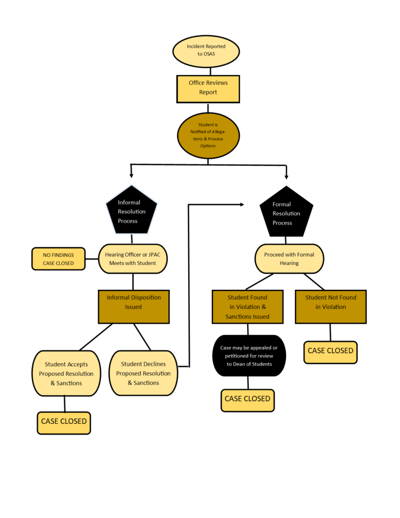 Picture of Info Graph of Conduct Process